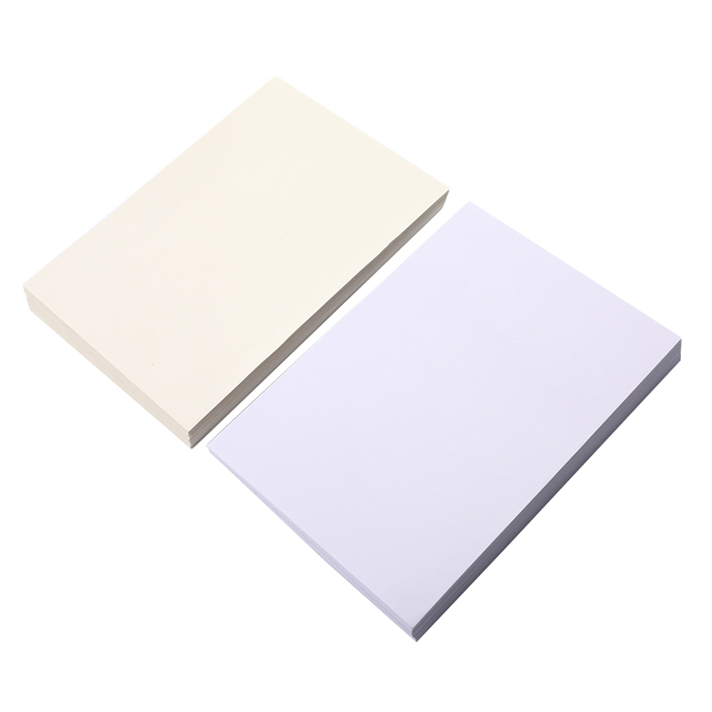 100 Sheets Cotton Watercolor Paper Bulk Cold Press Paper Drawing Paper For Watercolorist Students Beginning Artists