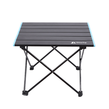 Lekki składany stół wielofunkcyjny aluminiowy przenośny odkryty Camping BBQ biurko stół kempingowy 41x35x30cm składane biurko tanie i dobre opinie CN (pochodzenie) Brak w zestawie NONE BBQ Desk Folding Table Multifunctional Camping Folding Table