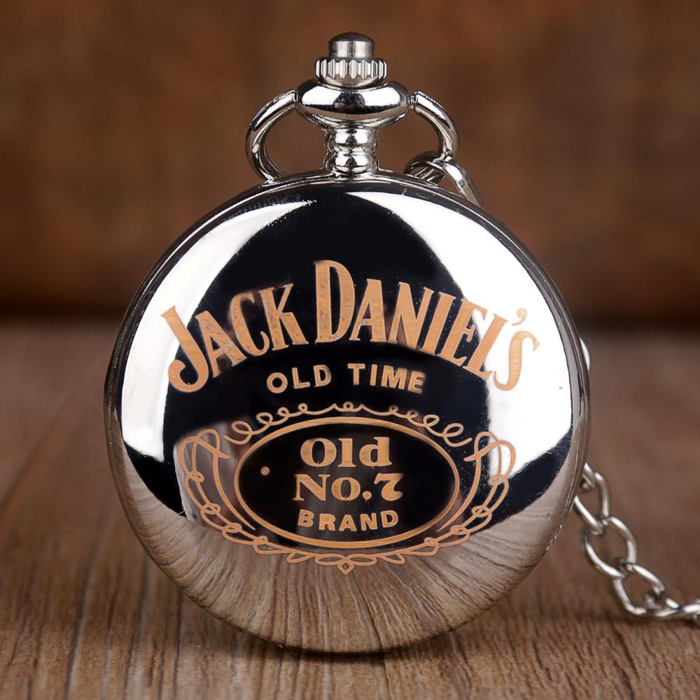 Pocket-Watches Fob-Chain Gift Unique Women Quartz Creatitive Text