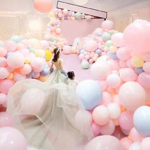 Image 5 - 5/10/18/24/36 inch Pastel Candy Balloons Wedding Party Round Helium Macaron Balloon Arch Decoration