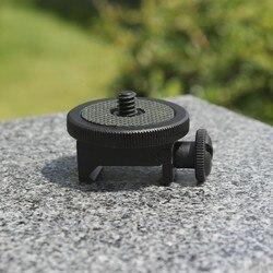 Picatinny-Soporte de trípode para pistola de Rifle lateral, 20mm, 21mm, para Sony GoPro Hero Xiaomi Cámara de Acción SJCAM y Smartphone Hunt, accesorio