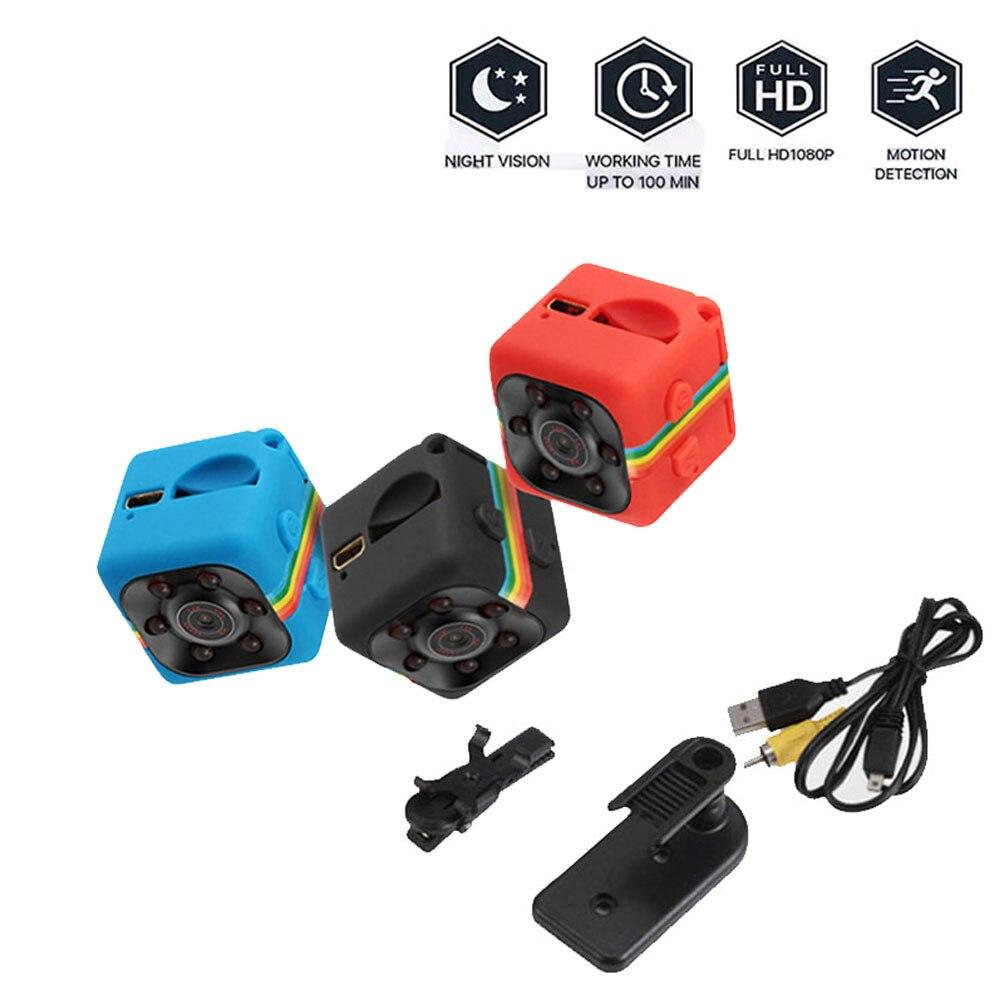 Мини IP-камера SQ11, Спортивная DV-камера с датчиком ночного видения, HD 720P, маленькая микро-камера, видеорегистратор движения, безопасность для в...