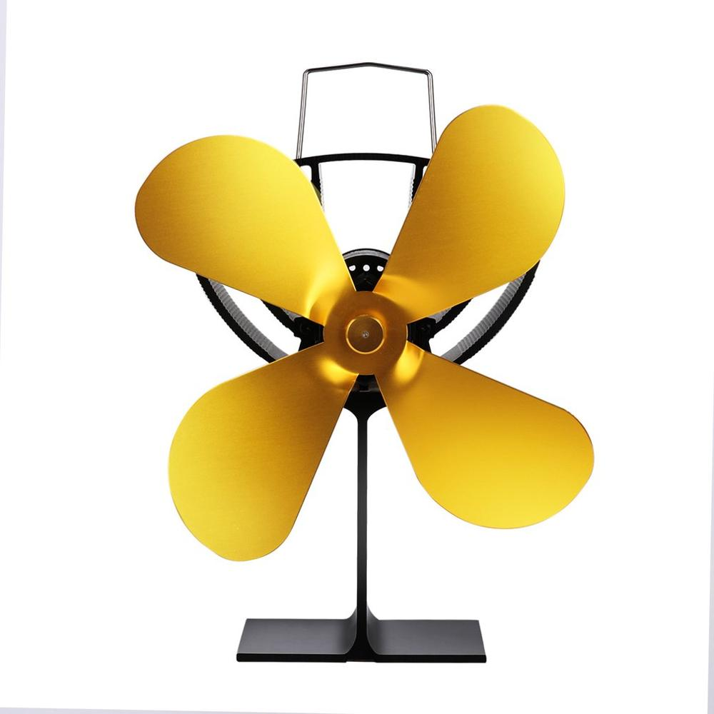 XL-BLFS-800C No Batteries Or Electricity Required Efficiently Circulates Warm Air Throughout The Room Fan