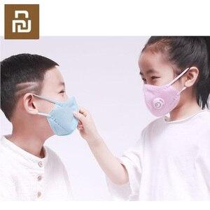 Image 3 - Youpin Kid PM2.5 Dust Mask Childrens Breathing Valve Anti fog Breathable Anti Fog Mask PM2.5 Dust Mask