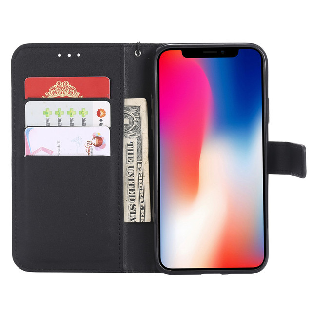 Note7 Note8 Note8T Funda Accessories Flip Wallet Leather Case For Xiaomi 8 9 Lite SE Redmi 7 7A 8 8A Note 4 6 7 8 Pro Card Cover 4