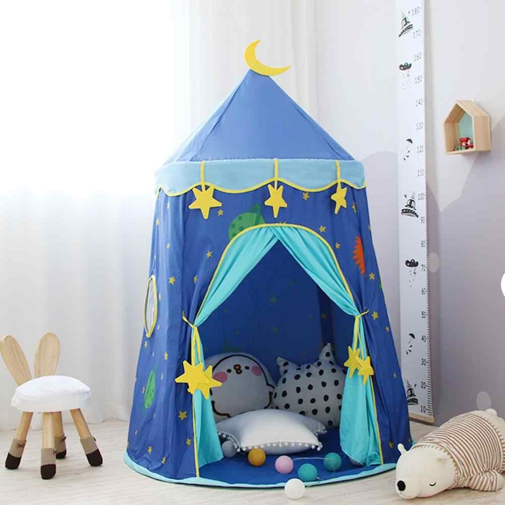 Crianças barraca do jogo do castelo barraca interior playhouse princesa castelo tenda indoor jogos crianças tenda tenda tenda jogar aniversário presente de natal
