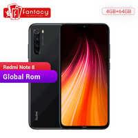 En Stock ROM global Xiaomi Redmi Note 8 4GB 64GB 48MP Quad Cámara Smartphone Snapdragon 665 Octa Core 6,3 FHD pantalla QC 3,0