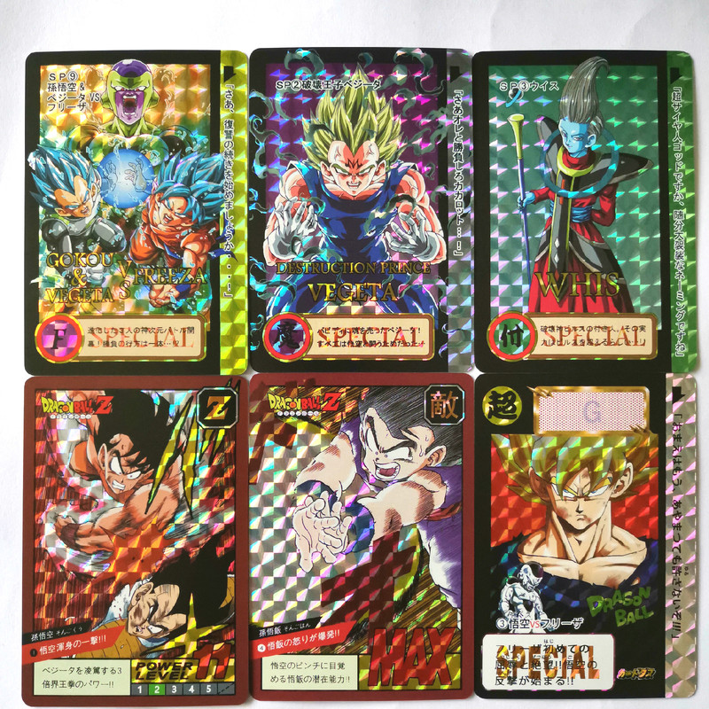 41pcs/set Dragon Ball Z Limit Breakthrough Heroes Battle Card Ultra Instinct Goku Super Game Collection Cards Free Shipping