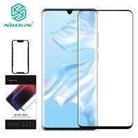 NILLKIN 3D DS MAX pellicola protettiva per schermo per Huawei P30 Pro 9D Edge vetro temperato di sicurezza da 6.2 pollici