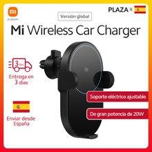 Xiaomi – chargeur de voiture sans fil pour Mi 10, Version globale, avec capteur infrarouge Intelligent, charge rapide, support de téléphone, 20W MAX