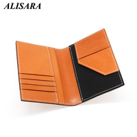 New Passport Cover First Layer Leather Handmade Top end Passport Case Men Business Travel Wallet Cowhide Women ID License Purses