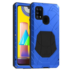 IMATCH Luxury Full Protective Metal Case Shockproof For Samsung Galaxy M31 M51 Case Hard Aluminum Armor Heavy Duty Cover For M31