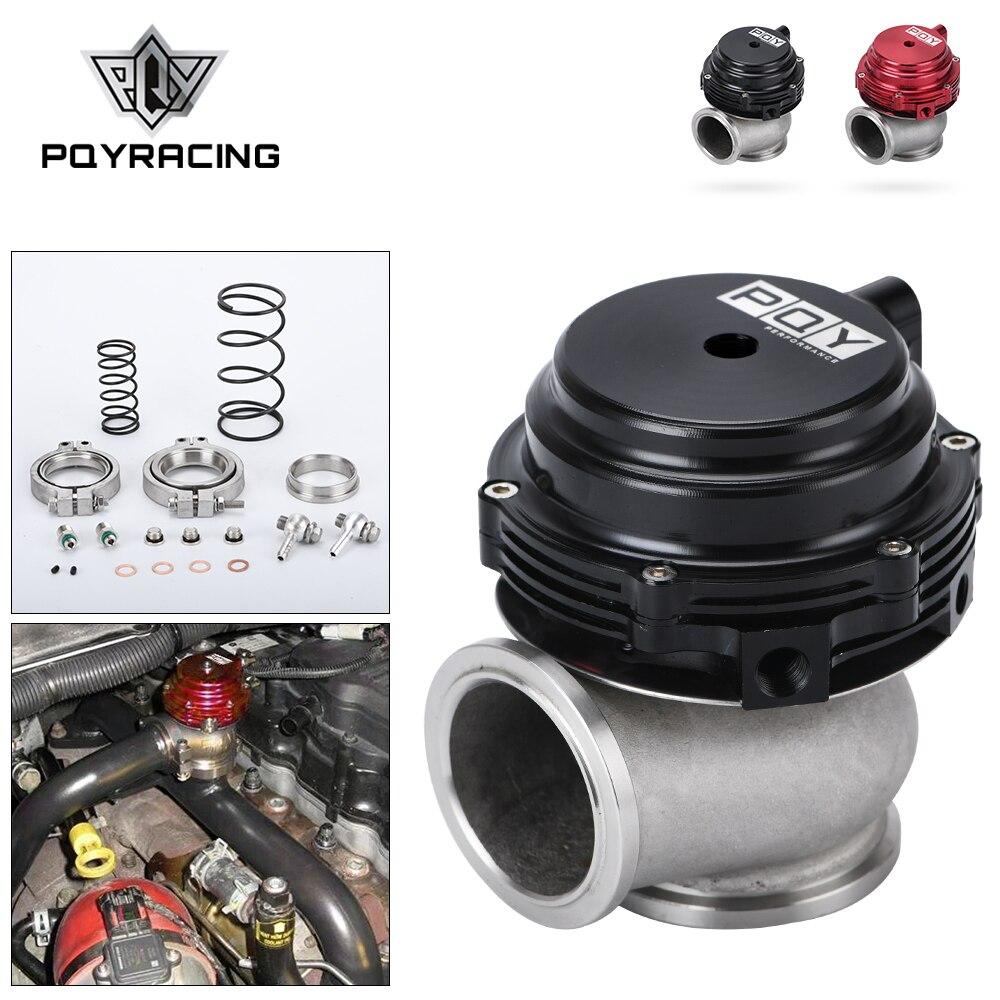 Refroidisseur d'eau 44mm turbo externe rouge/bleu/noir avec bride/matériel MV-R refroidi à l'eau avec logo PQY5834