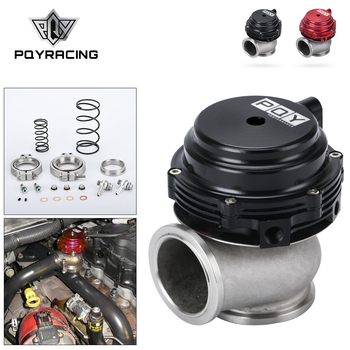 Water Cooler 44mm Wastegate External Turbo With Flange Hardware MV-R Water Cooled With Logo Red Blue Black PQY5834
