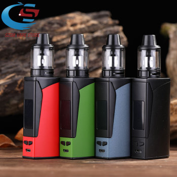 Electronic cigarette 100w box mod kit vape 2200mah Huge vapor  2.5ml tank e-cigarettes vaper vaporizer pen VS Polar Night 150w huge vapor 150w vape kit big power 150w box mod laser e cigarette cool vaper kit 3500mah battery electronic cigarette vaporizer