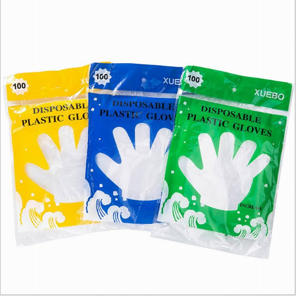 Rush Sale! 100PC Food Service Clear Vinyl Gloves, Disposable Glove,industrial Glove,clear, Latex Free And Allergy Free Wholesale