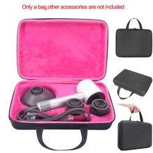 Viagem portátil carry caso capa saco de armazenamento bolsa manga caixa de presente recipiente para dyson supersônico secador cabelo
