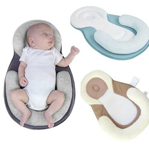 Infant Baby Newborn Shaping Pillow  Sleep Cushion Prevent Flat Head Sleep Nest Bed Mattress Breathable