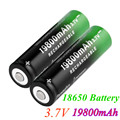 2 ~ 20 шт. Новый 18650 батарея 3,7V 19800 мА/ч, batera recargable de Li-Ion para linterna Фонарик светодиодный Caliente Nueva и высокое качество