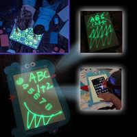 1Pcs A3/A4/A5 Draw With Night Light In Dark PVC Luminous Drawing Board Magic Fluorescent Pen Children Development Toy D1950n15