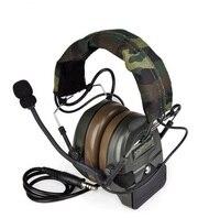 COMTAC I caça esportes ao ar livre tático captador de redução de ruído fones de ouvido militar FG|Protetor auricular|Segurança e Proteção -