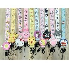 Cute Cat claw phone lanyard Unicorn Lanyard for Keys ID Badge Holders Cartoon Anime Phone Neck Straps with Keychain Keyring
