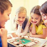 4 jugadores de lujo de cuatro lados 10 números cerrar la caja juego de mesa dados Fiesta Club juegos de beber para las familias de adultos
