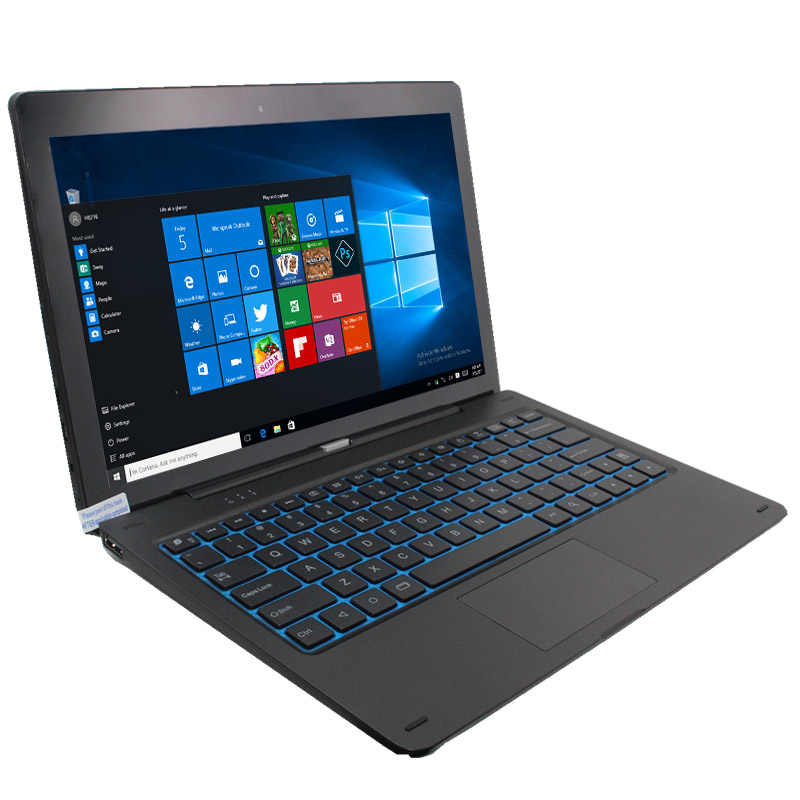 11.6 polegada windows10 nextbook Tablet PC com Pino de Encaixe Do Teclado 1GB + 64GB Quad-Core 1366*768 IPS HDMI câmeras Dual