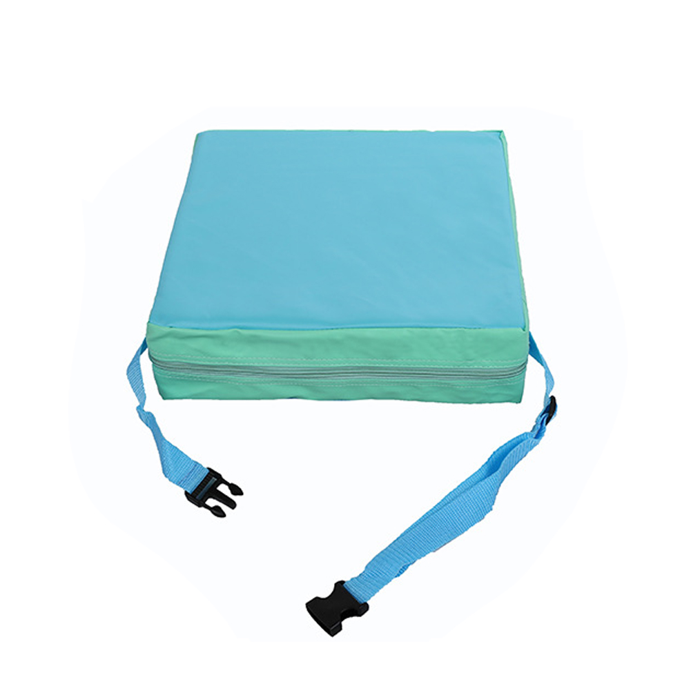 Portable Chair Cushion Square Lightweight Detachable Increased Kids Children Soft Adjustable Washable Abrasion-resistant Dining