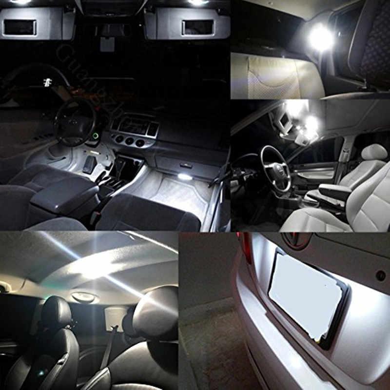 6 Pcs CANBUS LED Putih Lampu Baca LED Mobil Dome Peta Bagasi Auto Interior Lampu Kit untuk Hyundai Tucson Ix35 2010-2014 Lampu Mobil