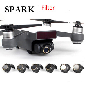 Image 1 - Spark Gimbal Camera Lens Filter Combo ND4 ND8 ND16 ND32 MCUV CPL for HD Clear Lens Filter Kit for DJI Spark Drone Accessories