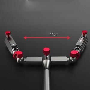 Image 2 - Accesorios de pesca universales, soporte para sombrilla, soporte para silla ajustable, soporte de caña de pescar giratorio, herramienta fija de pesca