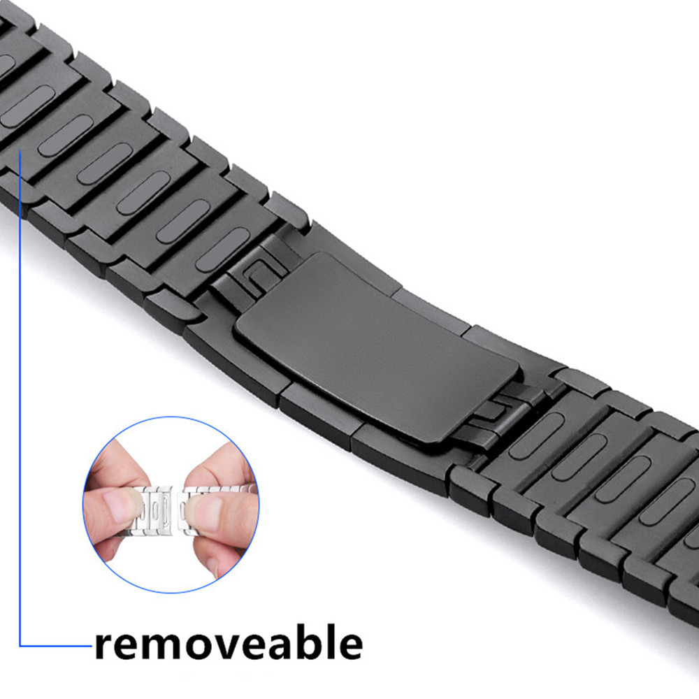 Strap For Apple Watch 5 Band 44mm Iwatch Band 42mm 38mm 40mm Stainless Steel Link Bracelet 316L Watchband  Gen.6 Apple Watch 5 4