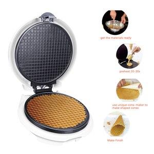 Image 4 - Elektrische Loempia Maker Krokante Omelet Schimmel Crêpe Bakken Pan Pancake Bakvormen Diy Ijsje Machine Pie Koekenpan Grill sonifer