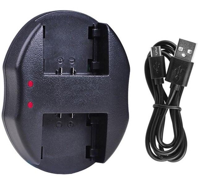 CAMCORDER Akku-LadegerätLADESTATON für PANASONIC HC-V520 HC-V510 HC-V210