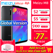 Meizu M8 4GB 64GB LTE/WCDMA/GSM/CDMA Octa Core Fingerprint Recognition 12mp New Smartphone