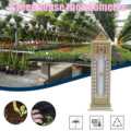 Максимальный и минимальный термометр 40 #-комнатный наружный настенный монитор температуры для сада и теплицы от-40 до 50C / -40 до 120F