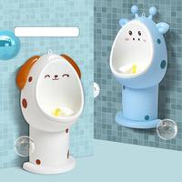 Baby Boy Wall Mounted Hook Potty Toilet Training Frog Stand Vertical Urinal Penico Pee Infant Toddler Bathroom Character U