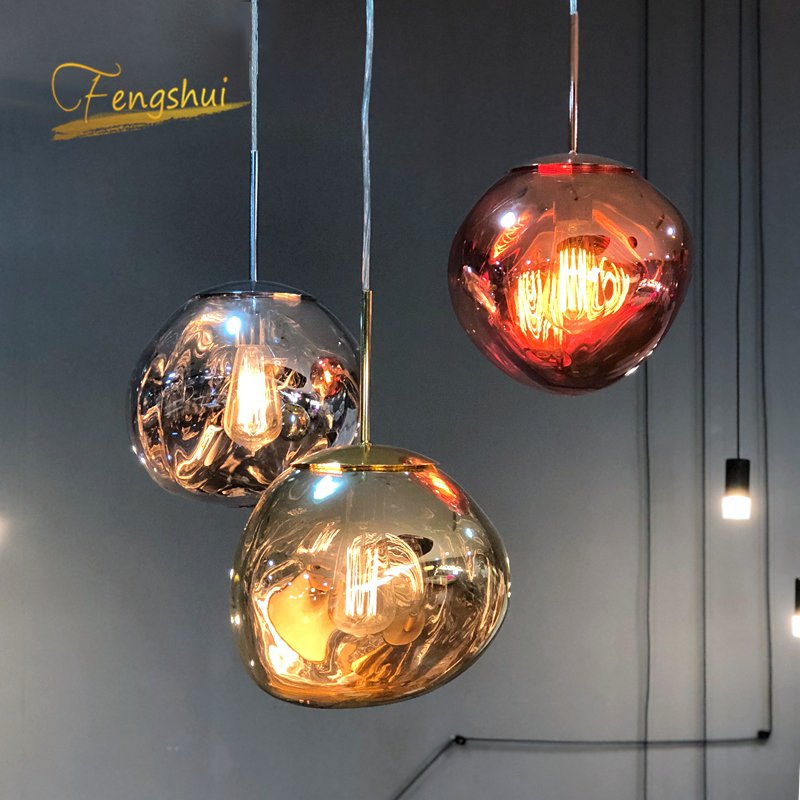 Modern PVC LED Pendant Lights Lighting Retro LOFT Home Deco Hanging Lamp Living Room Lamps Bedroom Luminaria Cafe Light Fixtures