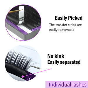 Image 3 - NAGARAKU Eyelash Extension Maquiage Lashes Individual Eyelash Natural Soft Lashes High Quality Synthetic Mink Makeup
