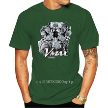 Summer 2020 Short Sleeve Plus Size NEW Yam Vmax Engine Motorcycle T-SHIRT MAN WOMAN Fashion Classic