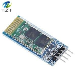 Image 4 - HC06 HC 06 sans fil série 4 broches Bluetooth RF émetteur récepteur Module RS232 TTL pour Arduino bluetooth module