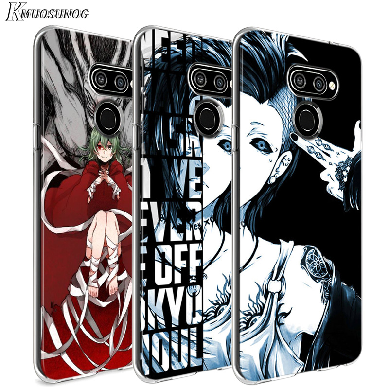 Anime Tokyo Ghouls For LG W20 W10 V50S V50 V40 V30 K50S K40S K30 K20 Q60 Q8 Q7 Q6 G8 G7 G6 Thinq Phone Case