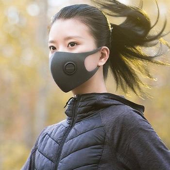 Covid 19 Xiaomi Zhimi light breathing anti haze mask, breathable, anti foaming, anti bacteria and second-hand smoke