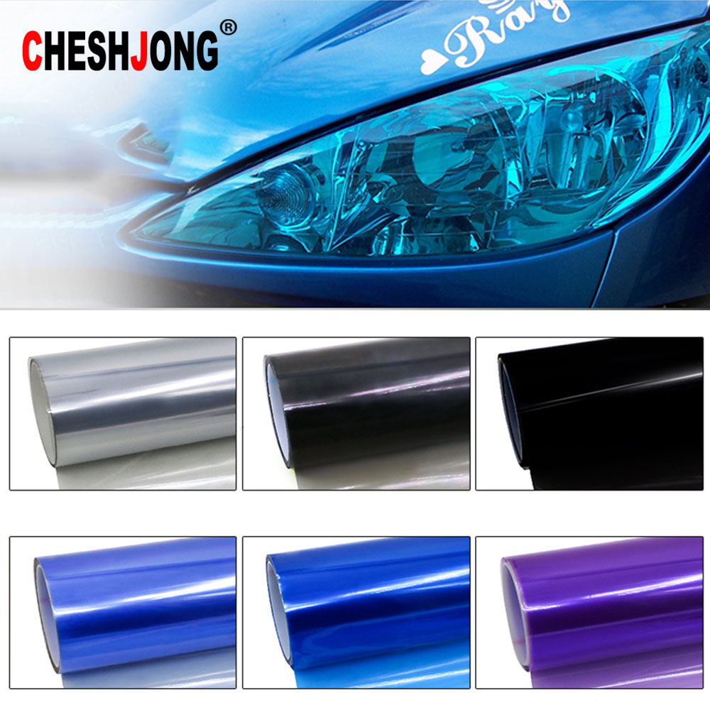 Auto Car 13 color Fog Light Headlight Taillight Tint Vinyl Film Sheet Sticker