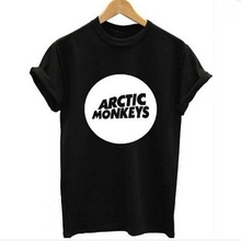 Arctic Monkeys Mens Tee Shirt Indie Rock And Roll Short Sleve O-neck Loose Thisrts Music Brand Summer new Hip hop Men T shirts
