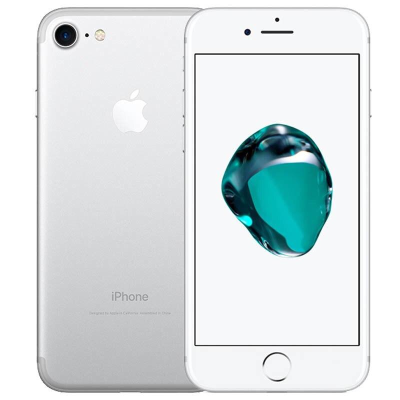 Used IPhone Unlocked Apple IPhone 7 2GB RAM 32G 128GB ROM  IOS 12.0MP Camera Quad-Core Fingerprint 12MP LTE Fingerprint Touch