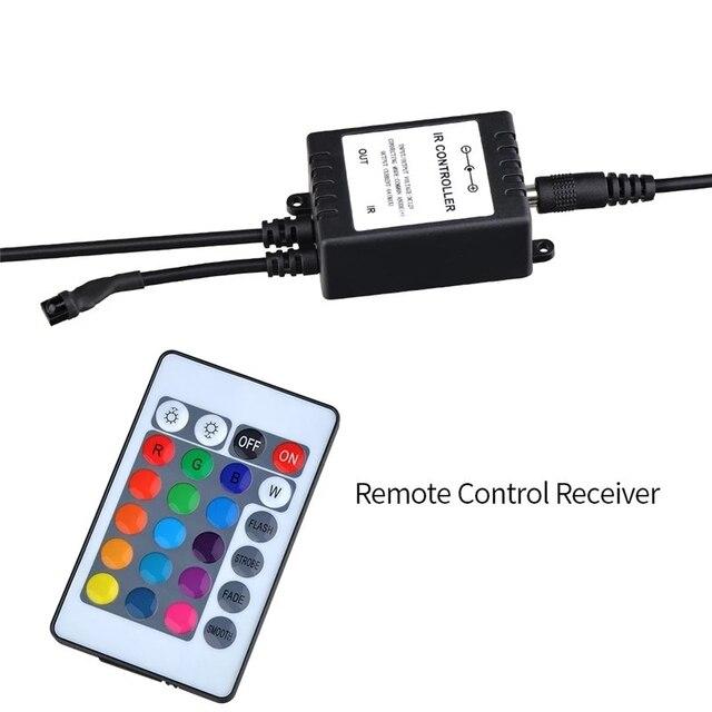 Remote Control Color Changing Fish Tank RGB Aquatic Bubble Lamp  5