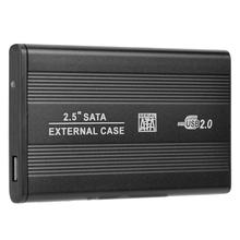 Get more info on the 2.5 inch Hard Disk Case Aluminum Alloy SATA USB2.0 External Hard Drive Case Portable 480Mbps SATA USB2.0 Enclosure Case