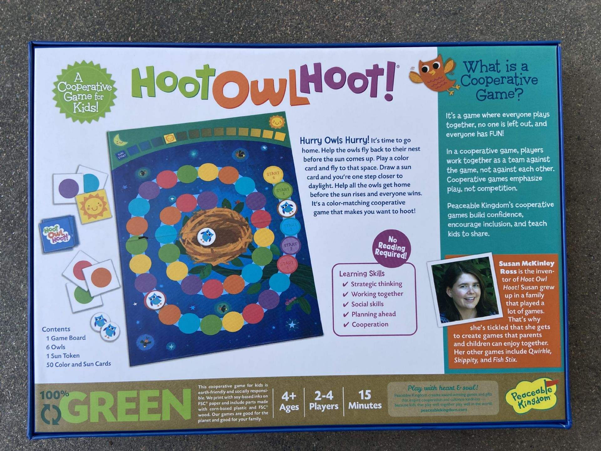 Explosive Board Game Hoot Owl Hoot Owl Home Board Game Children Parent-child